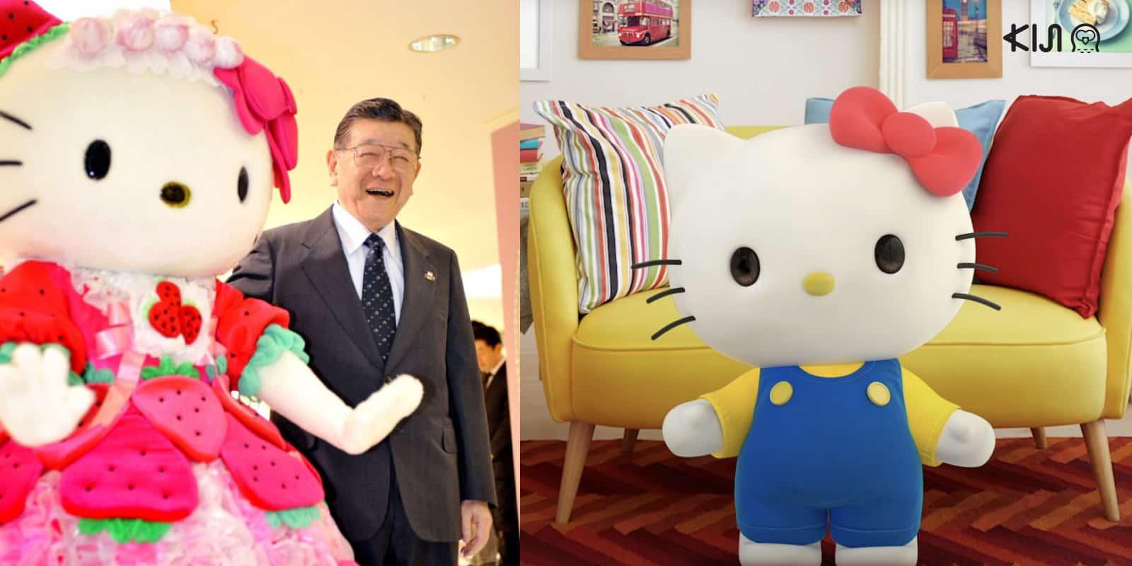 ชินทาโร่ ซึจิ ผู้บุกเบิกการ์ตูน Sanrio ประกาศสละตำแหน่งในวัย 92 ปี