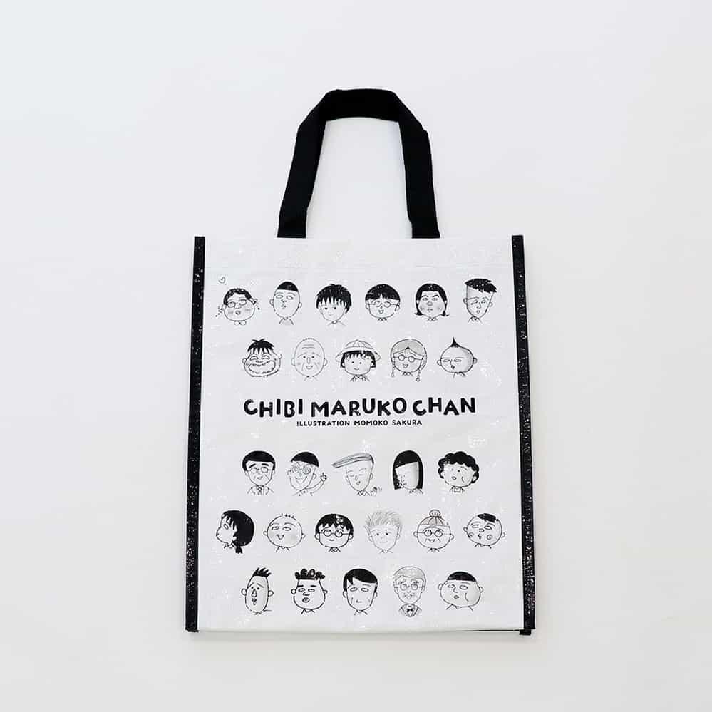 สินค้าคอลเลคชั่น มารุโกะจัง จากร้าน 3COINS : Shopping Bag ราคา 150 เยน (ไม่รวมภาษี)