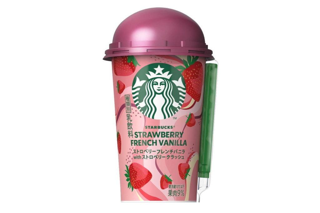 Strawberry French Vanilla with Strawberry Crush เครื่องดื่มรสชาติใหม่จากสตาร์บัคส์