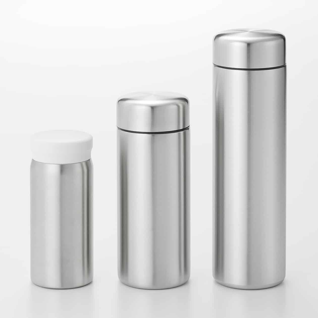 แก้วมัคสเตนเลสสตีลที่สามารถใช้บริการ ตู้กดน้ำดื่ม ฟรีจาก Muji