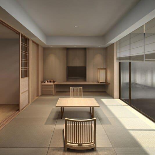 ONSEN RYOKAN Yuen Sapporo : ห้องพักแบบ Family Suite