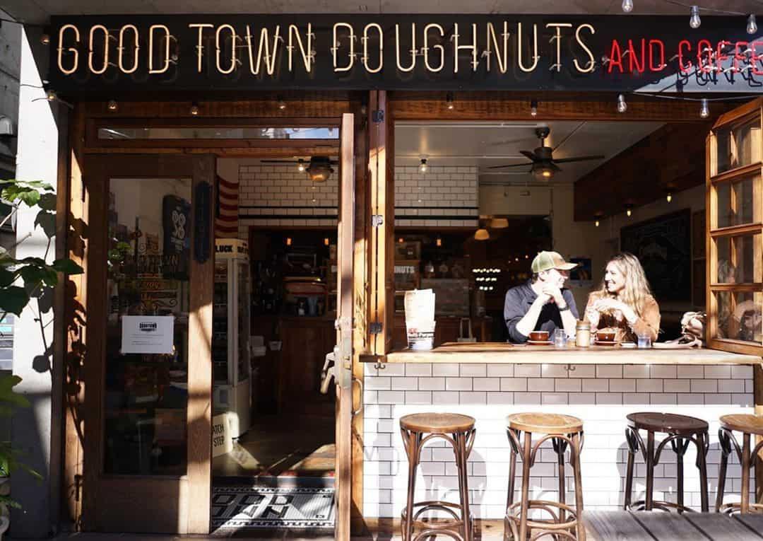 ร้านโดนัท Good Town Doughnuts and Coffee จ.โตเกียว