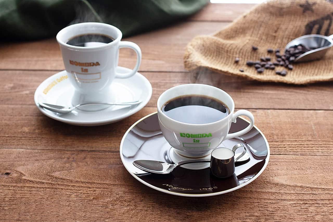 ภายในร้าน KOMEDA is □ อบอวลไปด้วยกลิ่นหอมของกาแฟ