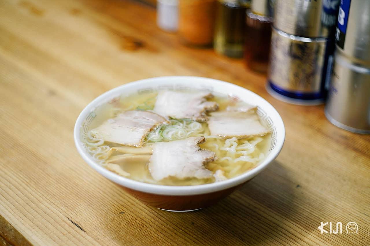 เมนู Kitakata Ramen คิตะคาตะ ราเมน จากร้าน Bannai Shokudo