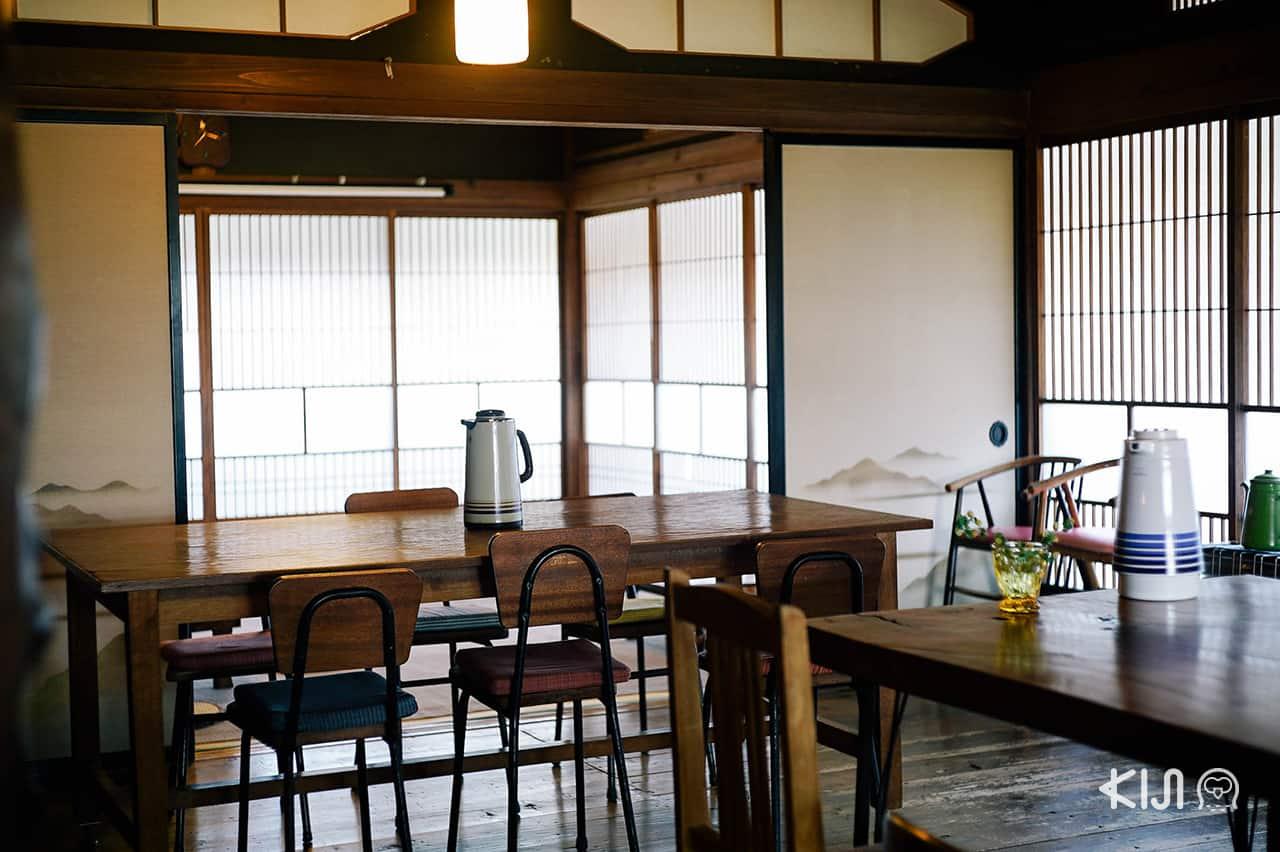 บรรยากาศภายในร้าน Tsuki-to-Ohisama (Tukitoohisama)