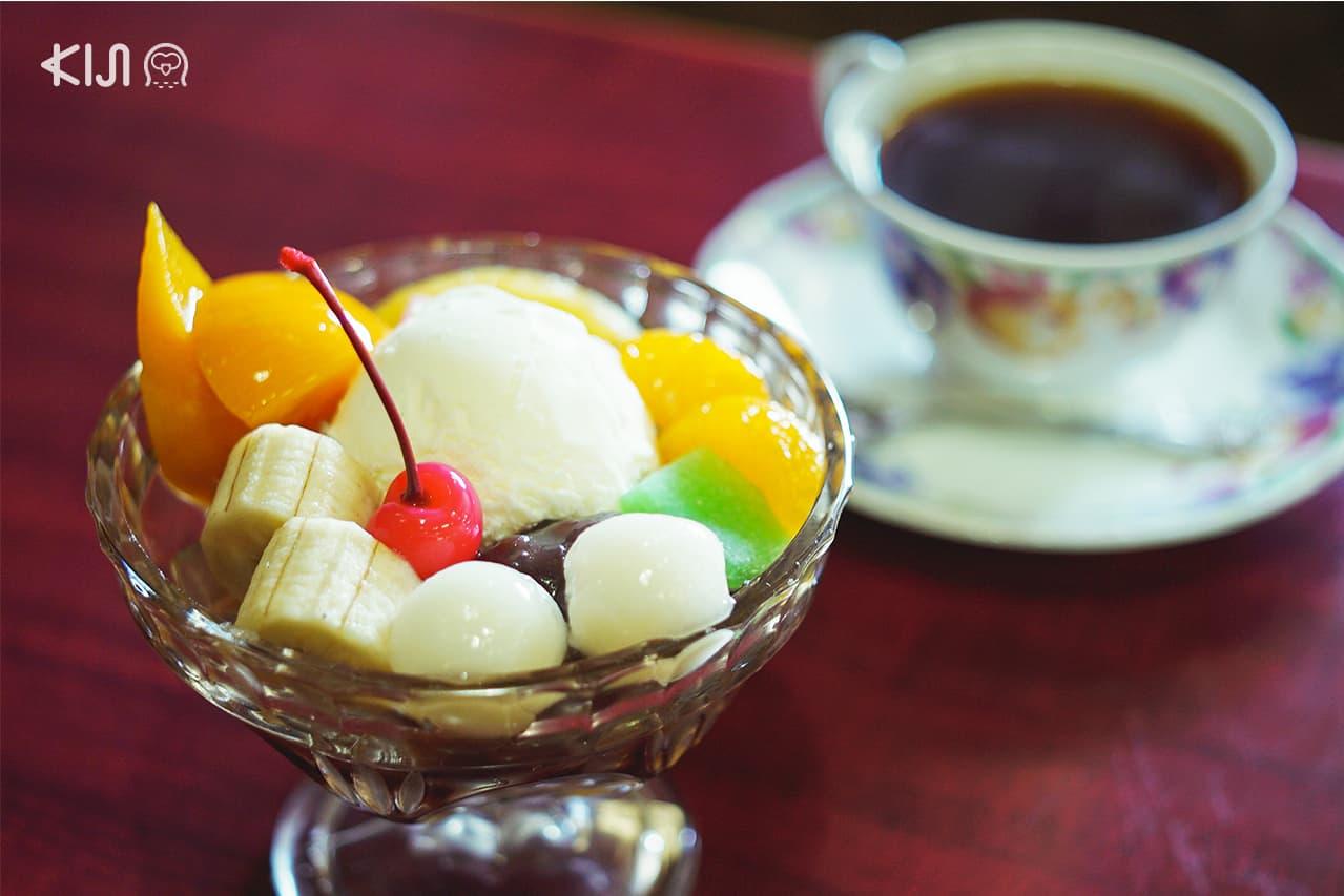 โฉมหน้าเมนู 'Cream Anmitsu' อีกหนึ่งขนมหวานที่อยากแนะนำให้ลองเมื่อมา ฟุกุชิมะ