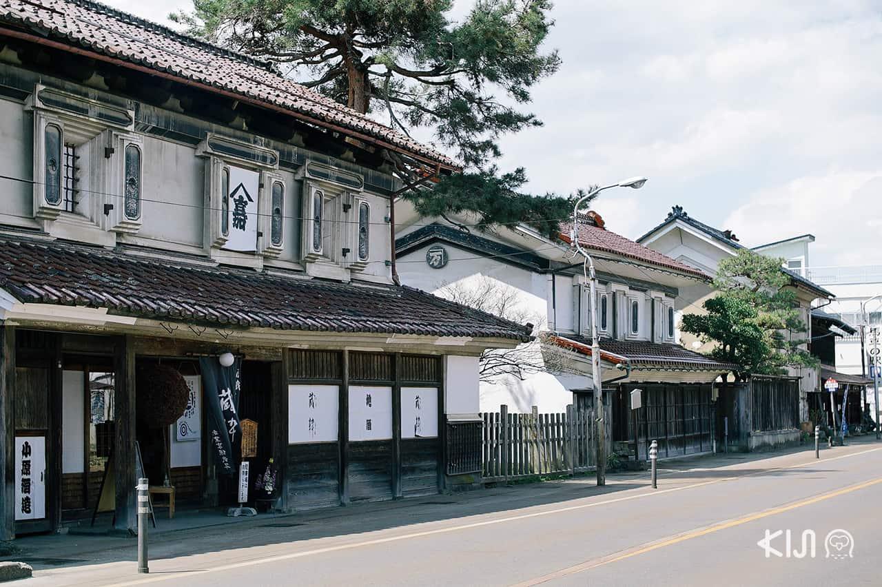 ที่เมืองคิตะคาตะ ยังคงรักษาสถาปัตยกรรมแบบดั้งเดิมเอาไว้ได้อย่างดีงาม