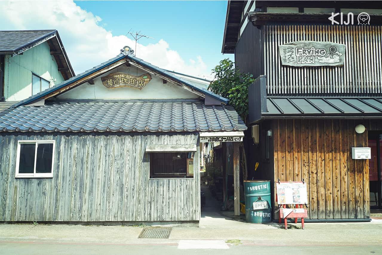 เพลิดเพลินกับกลิ่นกาแฟที่เกิดจากการคั่วหลายระดับในร้านกาแฟริมทางของ ฟุกุชิมะ
