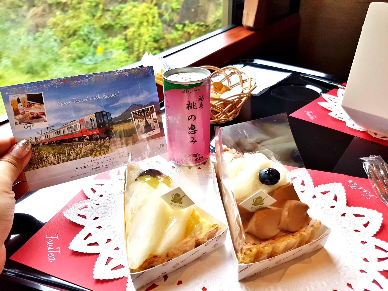 รถไฟคาเฟ่ฟรุตเทีย ฟุกุชิมะ | FruiTea Fukushima