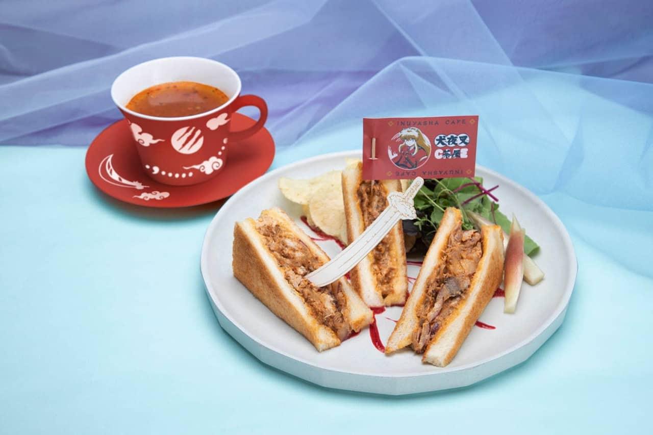 Inuyasha Beef Sandwich at Inuyasha Cafe