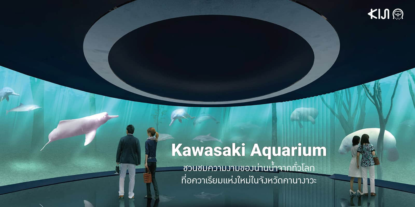 ที่เที่ยวคานางาวะ Kawasaki Aquarium