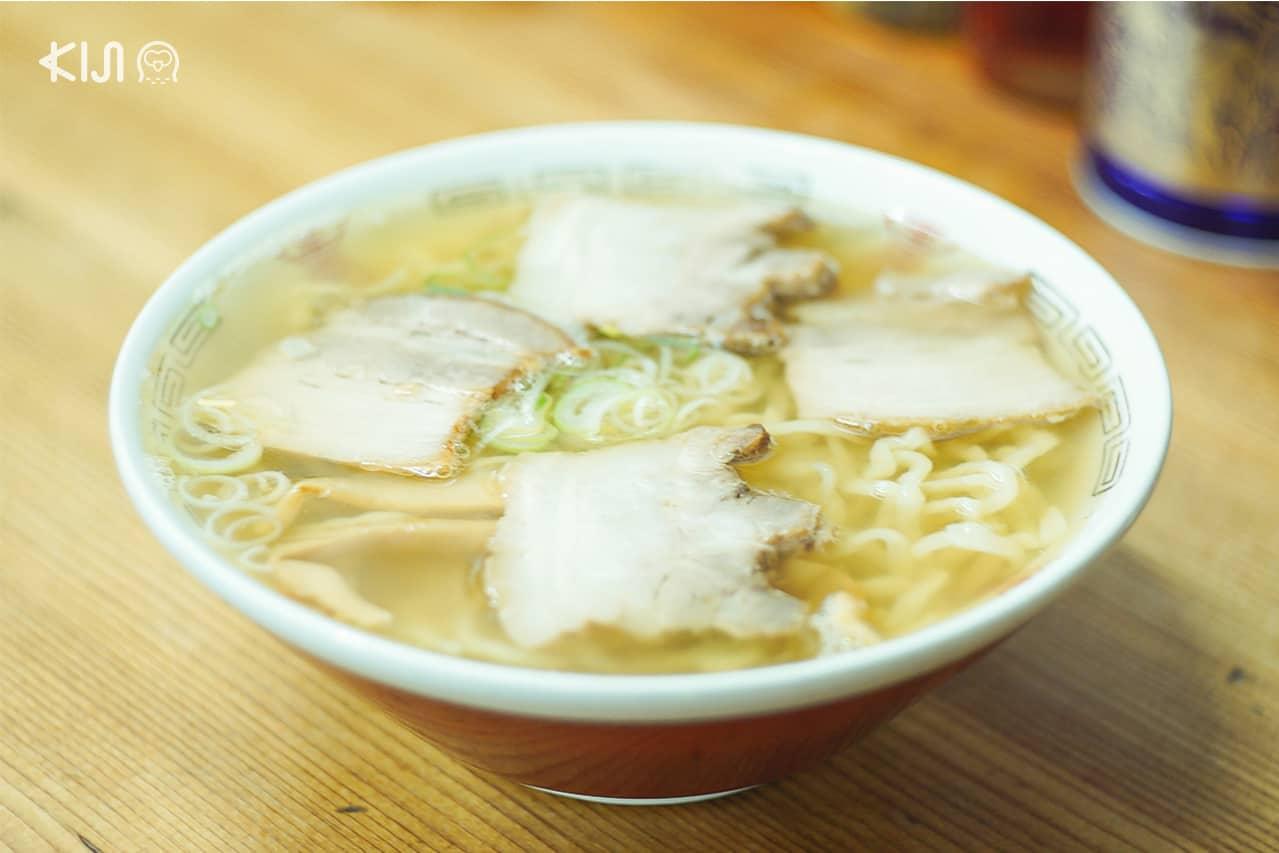 คิตะคาตะราเมน ความอร่อยที่พลาดไม่ได้ใน ฟุกุชิมะ