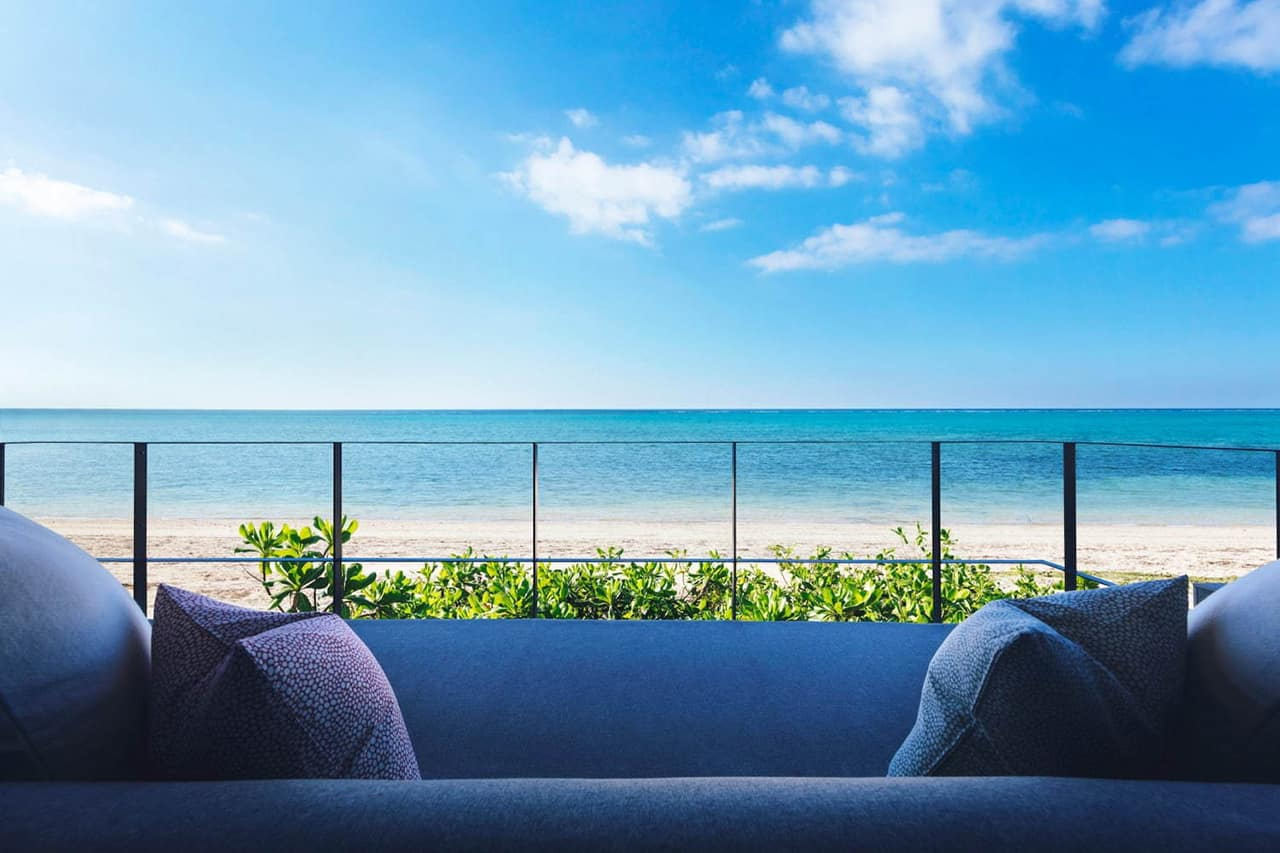 HOSHINOYA Okinawa : Haru (Oceanfront balcony suite)