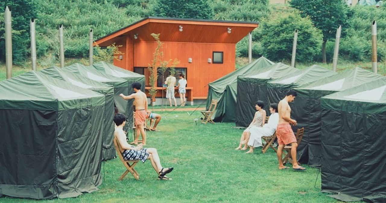 Nolla Naguri : Sauna Club พื้นที่เต็นท์ซาวน่าสไตล์ชาวฟินแลนด์