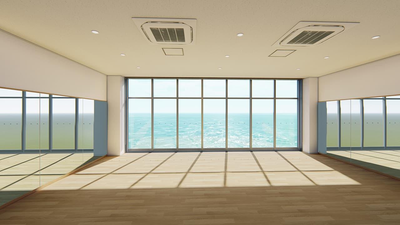 Makuhari Onsen Yuraku no Sato - ห้องอเนกประสงค์สำหรับทำกิจกรรมต่างๆ
