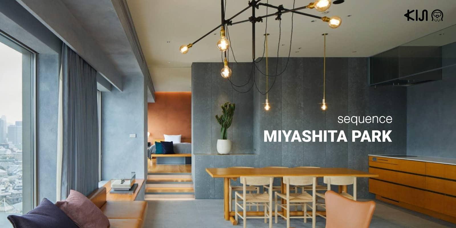 sequence MIYASHITA PARK ที่พักชิบูย่า