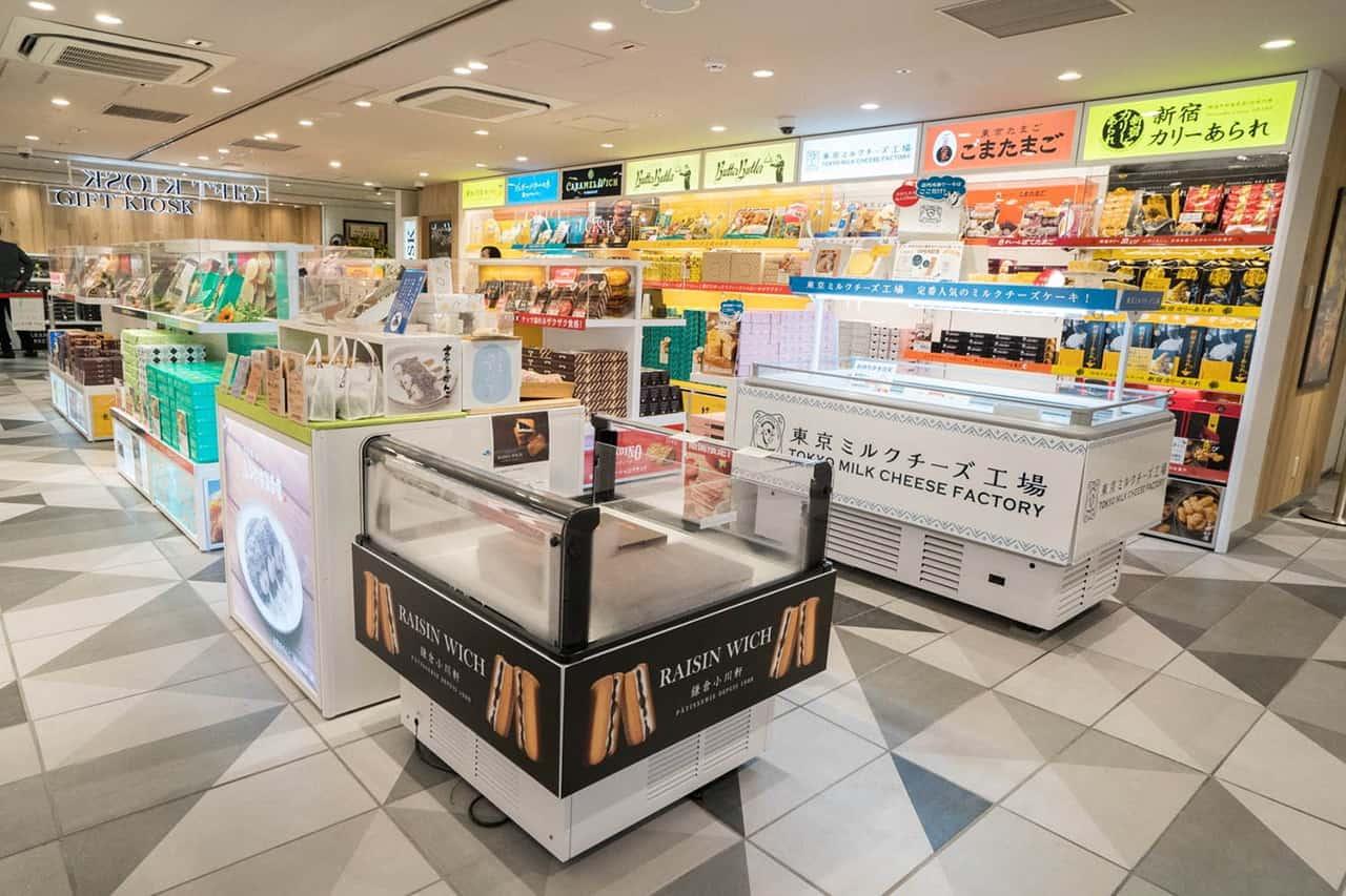 Tokyo Gift Palette โซนร้านขายของฝากแห่งใหม่ในสถานีรถไฟโตเกียว (Tokyo Station)