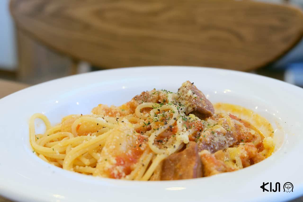 สปาเก็ตตี้ จากร้าน Italian Kitchen Dico เมือง โอคาซากิ
