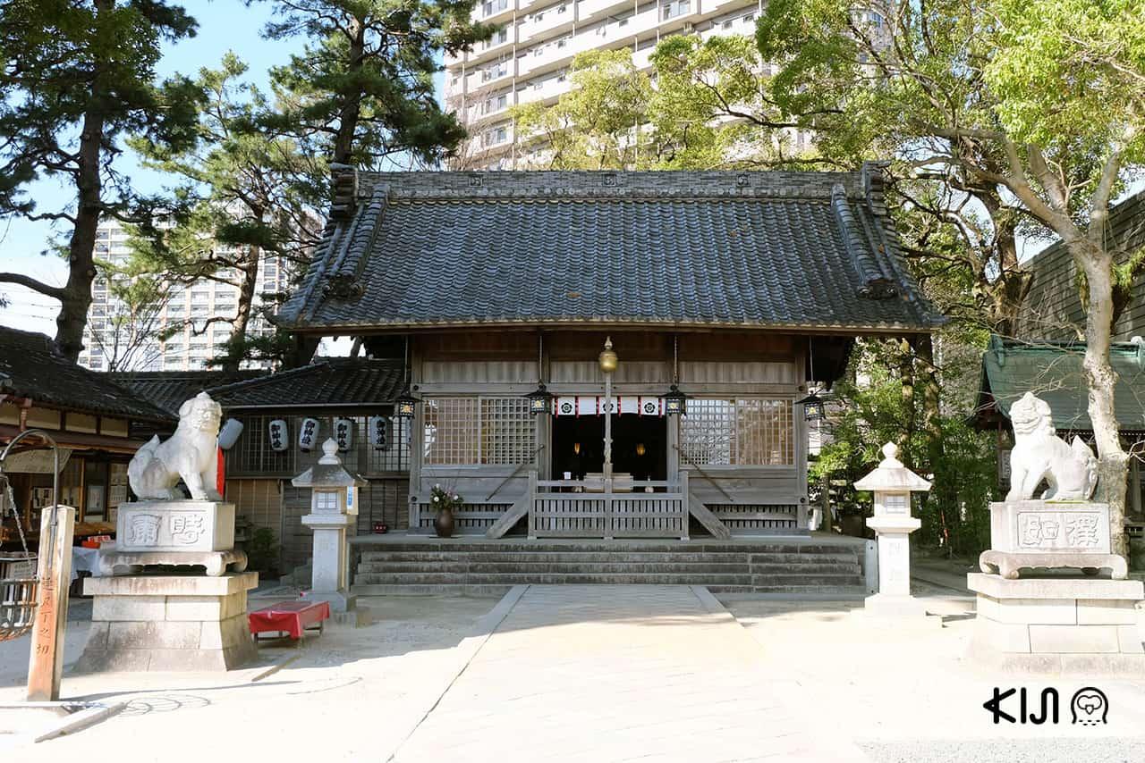 Sugao Shrine ศาลเจ้าที่เก่าแก่ที่สุดของเมืองโอคาซากิ