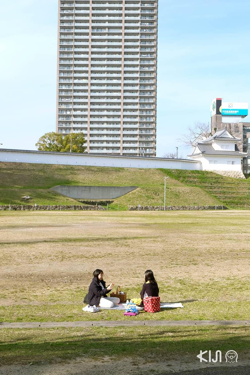 สวนโอคาซากิ ที่อยู่บริเวณรอบๆ ปราสาทโอคาซากิ
