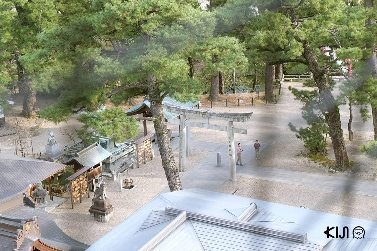 บรรยากาศรอบๆ ปราสาทโอคาซากิ (Okazaki Castle)