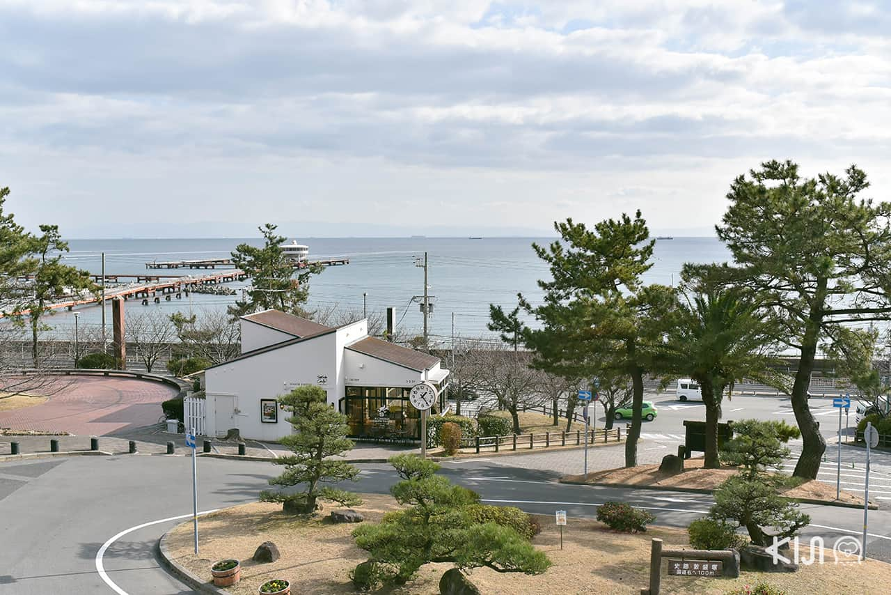 คาเฟ่ Patisserie Tooth Tooth Seaside Cafe Tooth Tooth อยู่ใกล้กับสวนสนุก Sumaura Sanjo Yuen Park