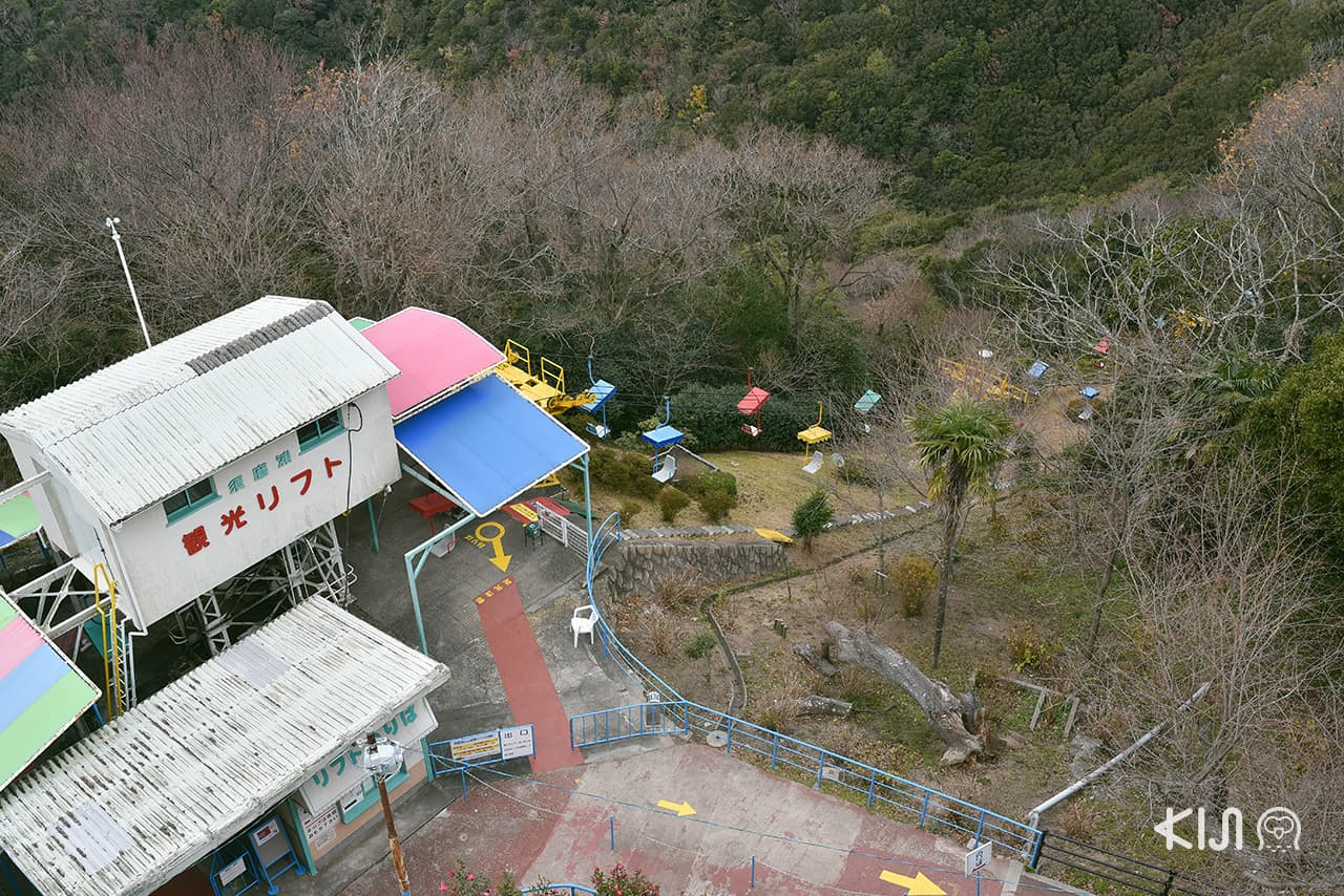 วิวสวนสนุก Sumaura Sanjo Yuen Park จากมุมสูง