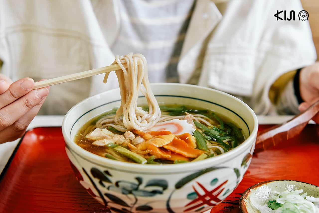 """""""อินานิวะอุด้ง"""" เมนูเส้นขึ้นชื่อของอาคิตะ จาก Kichiemon ร้านอาหารญี่ปุ่นสไตล์โฮมเมด"""