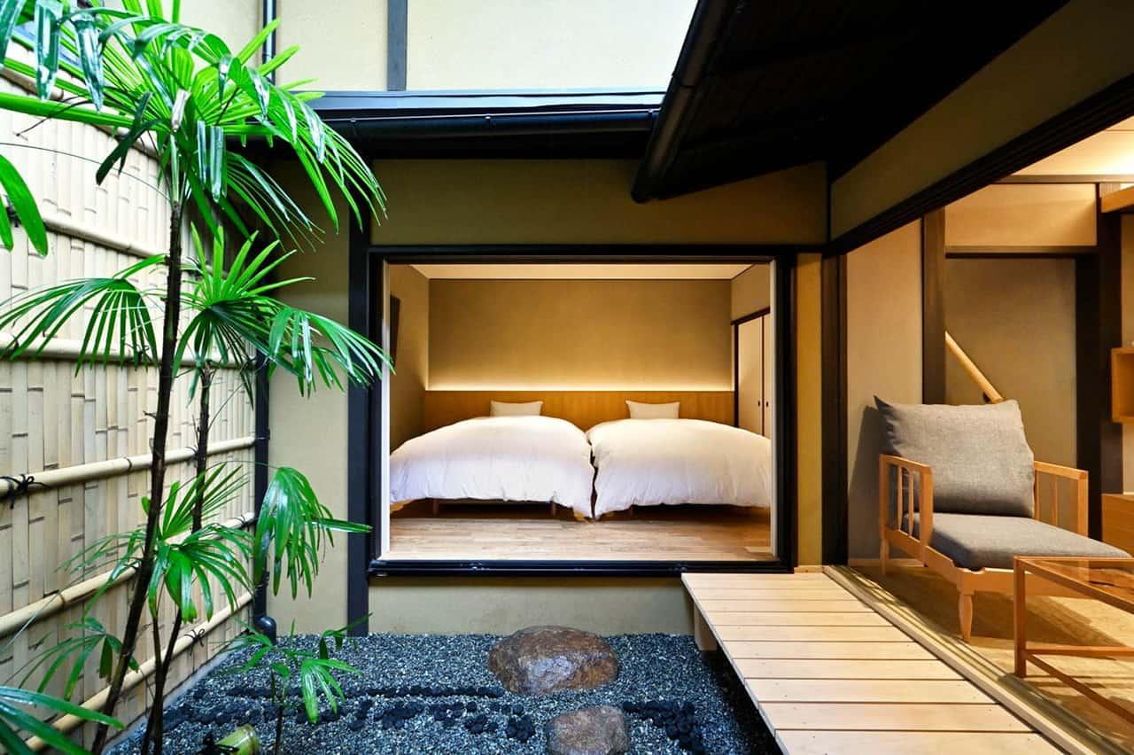 Kyo no Ondokoro TAKEYAMACHI ห้องนอนสไตล์ญี่ปุ่น