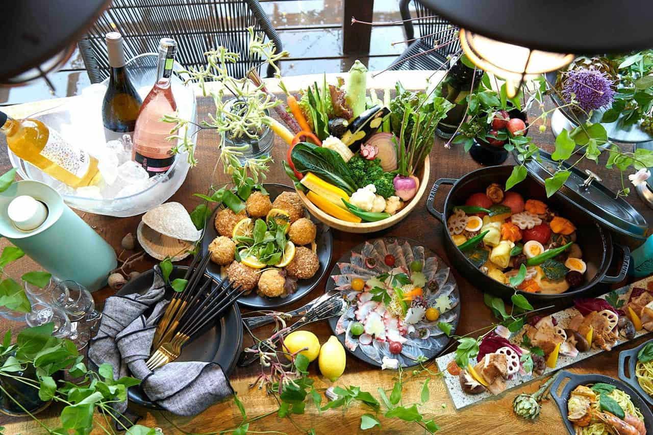 RELAX FUJINO เสิร์ฟอาหารปรุงด้วยวัตถุดิบทที่มีคุณภาพ จากผักออร์แกนิกไร้สารที่ปลูกในท้องถิ่น