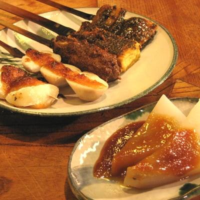 เมนูอาหารโลคอลจากร้าน Mitsutaya