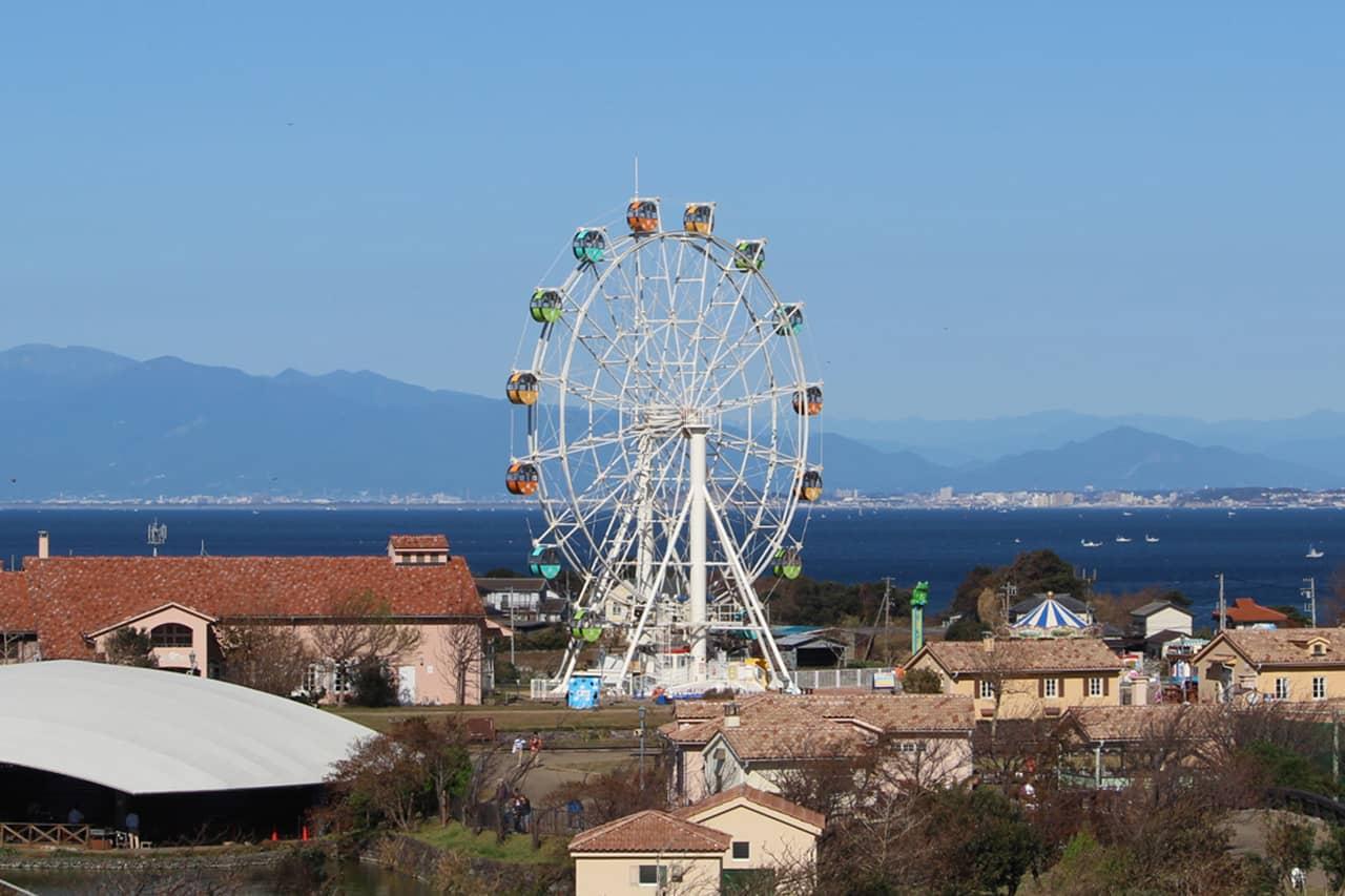 นอกจากสวนดอกไม้แล้ว ภายใน Yokosuka Soleil Hill ยังมีอีกหลายพื้นที่กิจกรรมสนุกๆ มากมาย