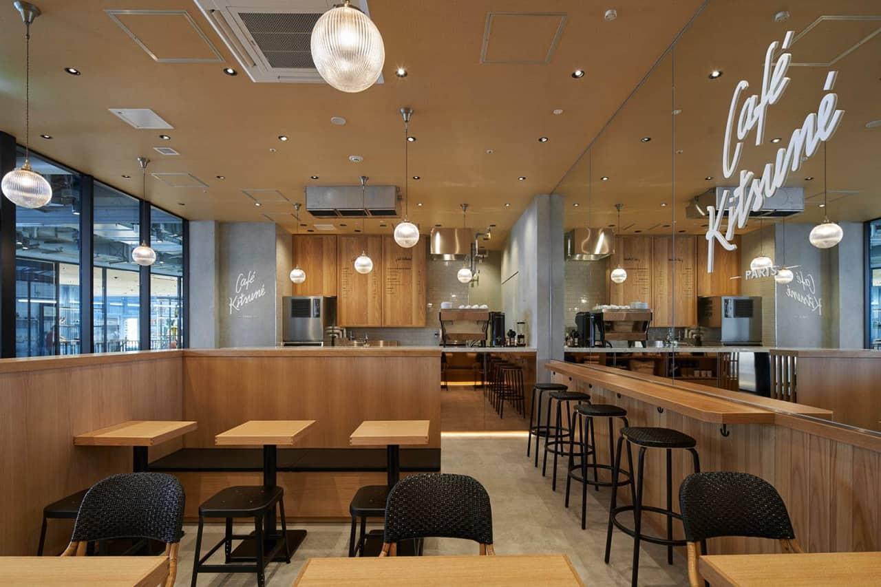 Café Kitsuné Shibuya's Miyashita Park