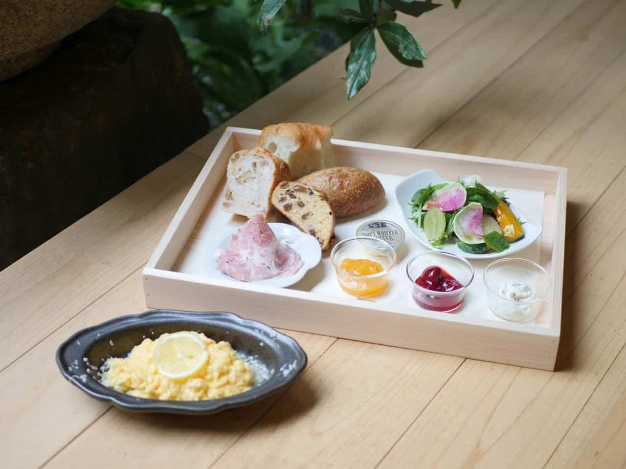 ชุดอาหารเช้าสำหรับแขกที่เข้าพัก Kyo no Ondokoro TAKEYAMACHI