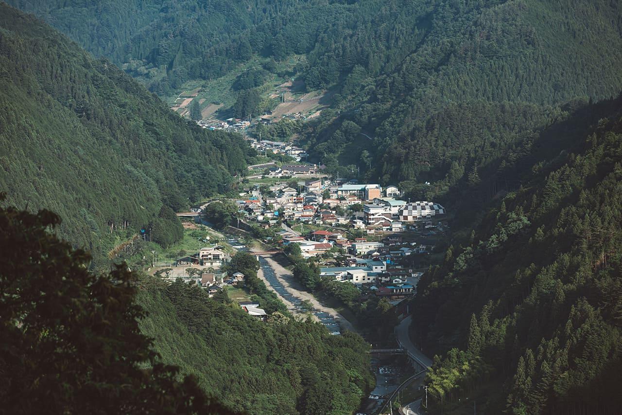 หมู่บ้านโคซึเกะ (Kosuge-mura) จังหวัดยามานาชิ (Yamanashi)