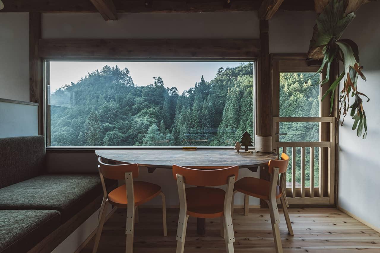 บรรยากาศภายในที่พัก NIPPONIA Kosuge Village จ.ยามานาชิ