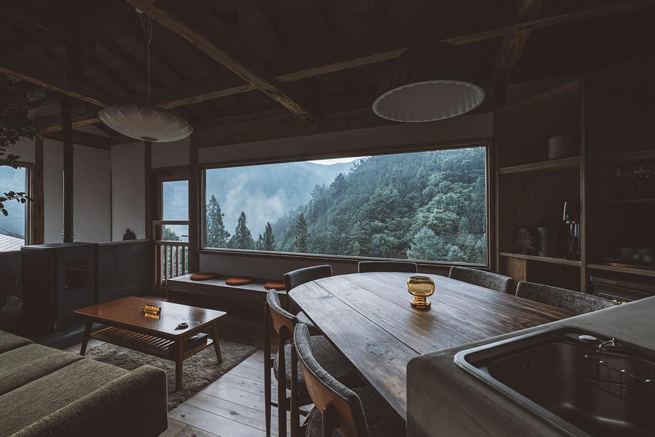 บรรยากาศภายในบ้านพัก NIPPONIA Kosuge Village