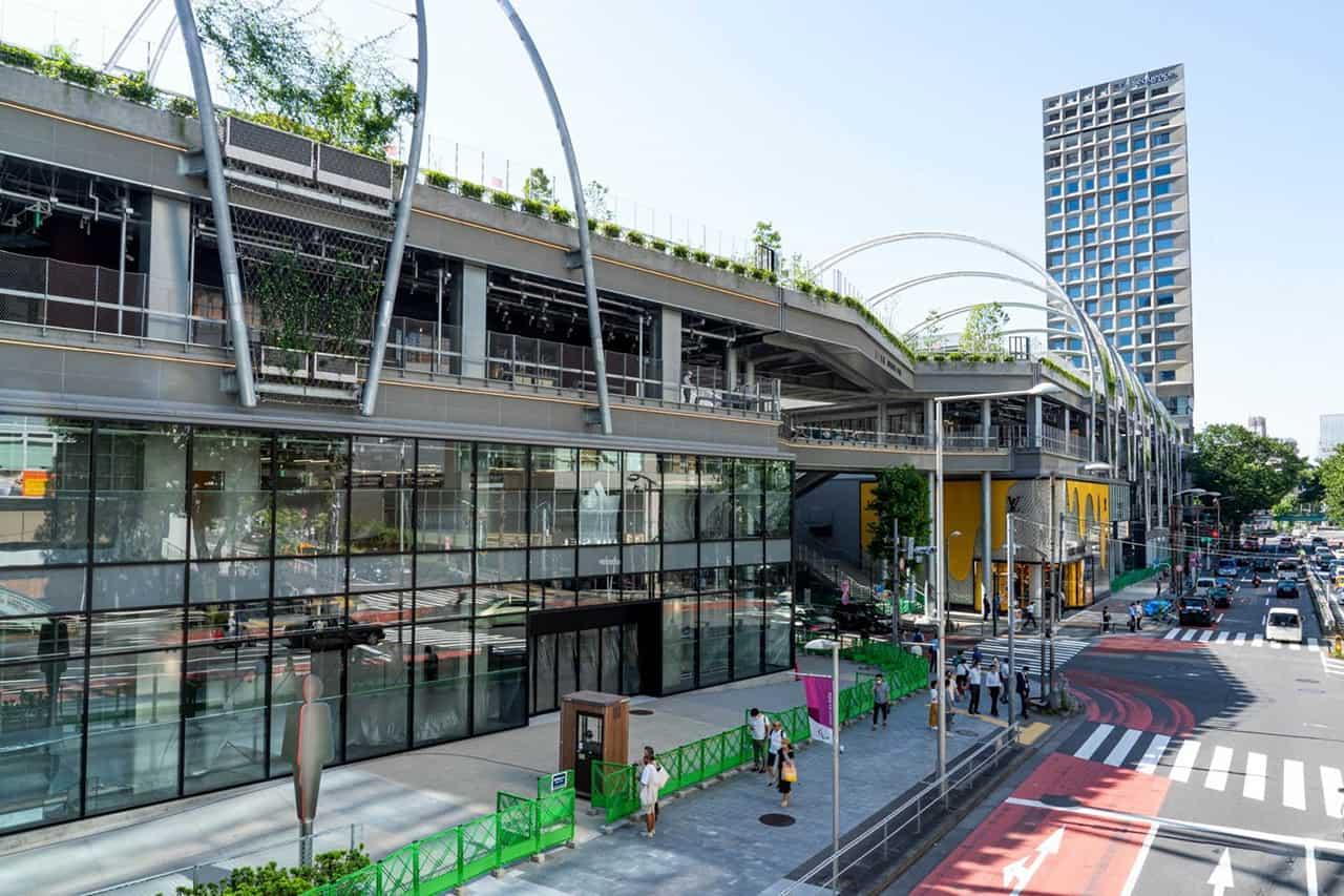 สวนสาธารณะมิยาชิตะ (MIYASHITA PARK) แลนด์มาร์คแห่งใหม่ใจกลางชิบูย่า (Shibuya)