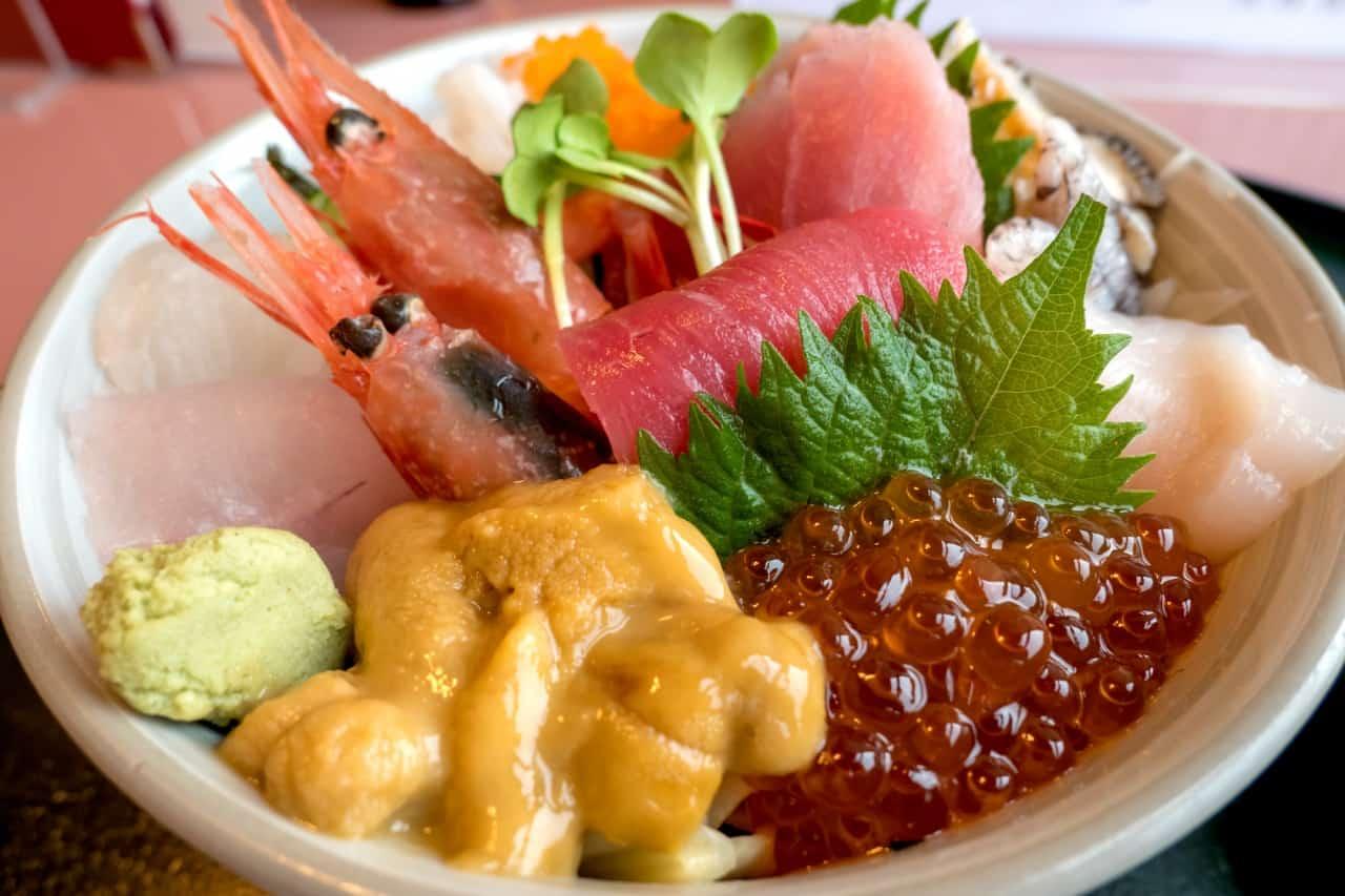 อาหาร จ.อาโอโมริ (Aomori) - นกเกะด้ง (Nokke Don)