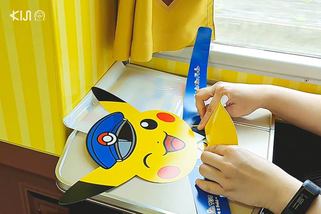 POKÉMON with YOU Train - ภายในตู้ Playroom มีของเล่นปิกาจูมากมาย
