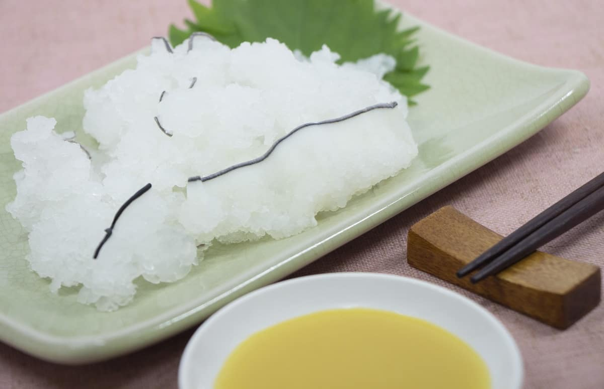 อาหารพื้นเมือง จ.ยามากุจิ - โอบาอิเคะ (Obaike)