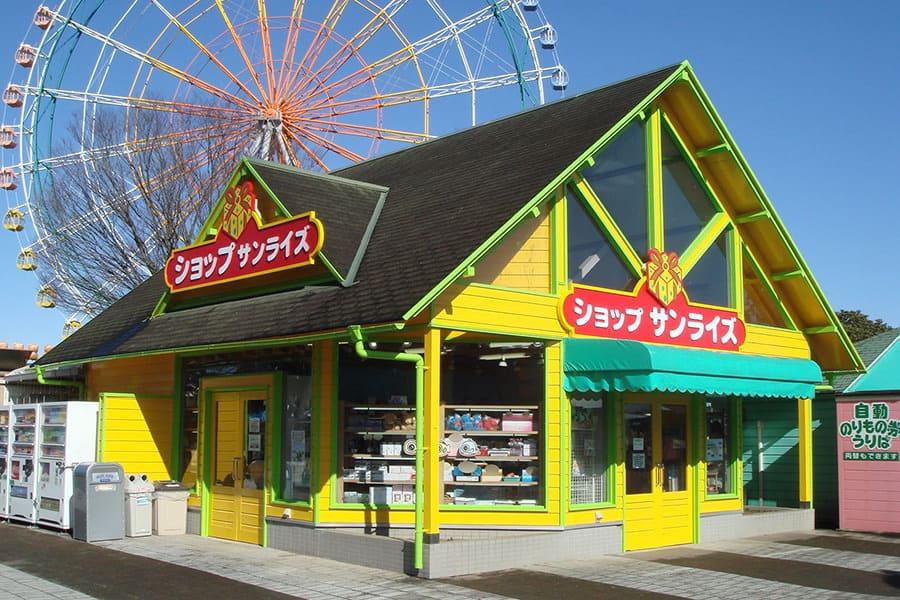 ร้านขายของที่ระลึกของ Hitachi Seaside Park