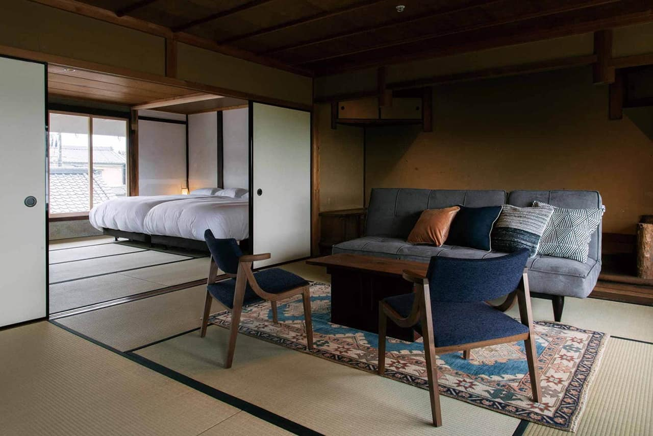 ห้องพักใน NIPPONAI TAWARAMOTO MARUTO SHOYU