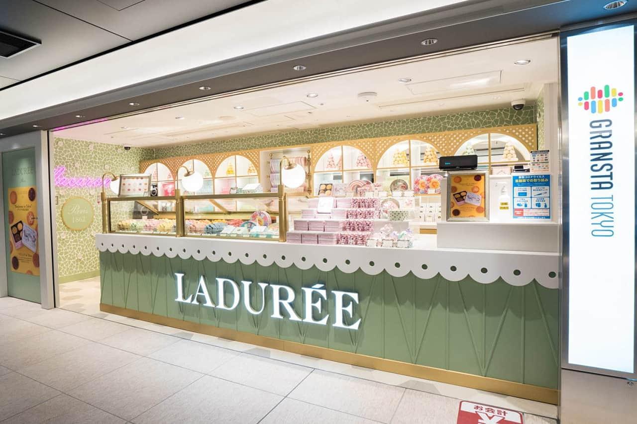 ร้านของฝากจากแบรนด์ขนมหวาน Ladurée