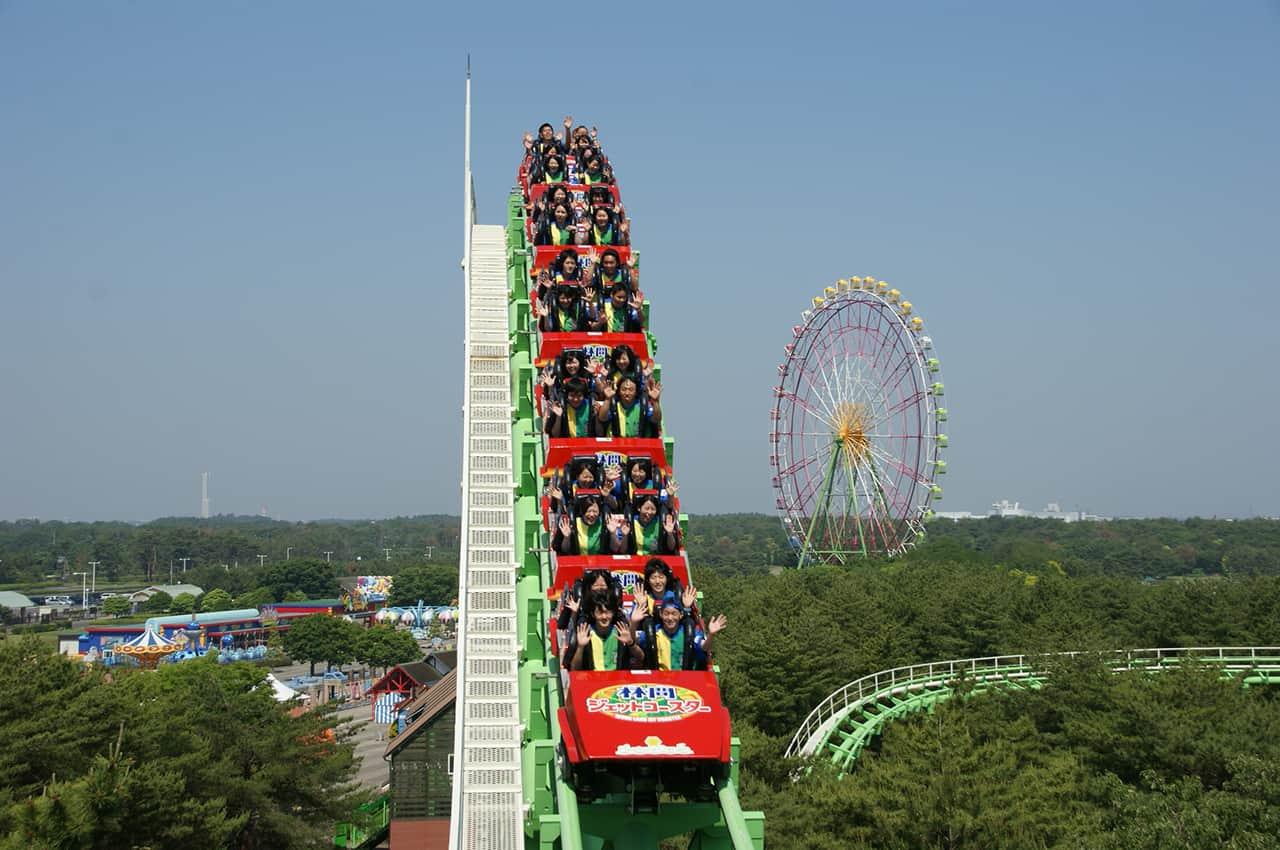 สวนสนุกภายใน Hitachi Seaside Park