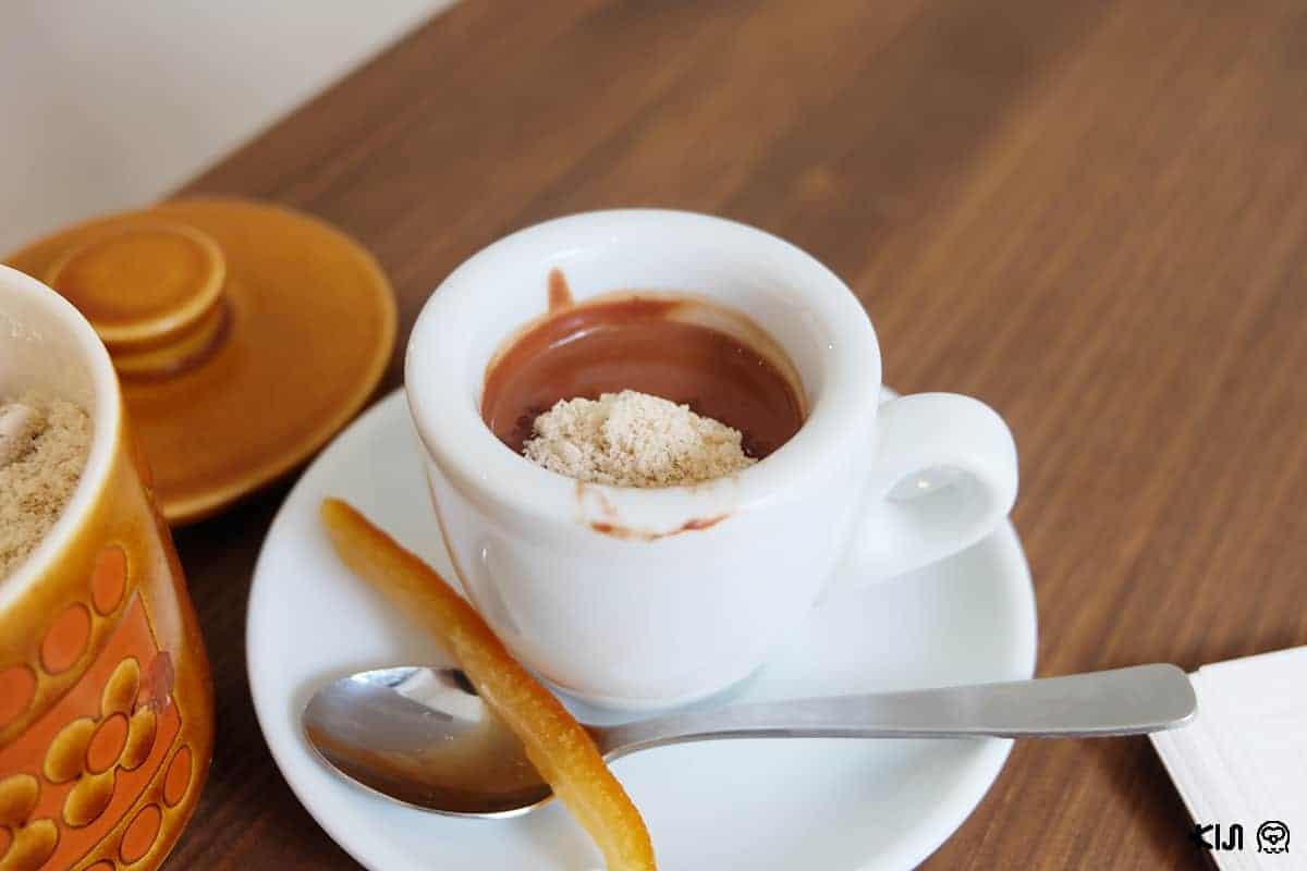 เมนู Cocoa Espresso จากร้าน Artichoke chocolate