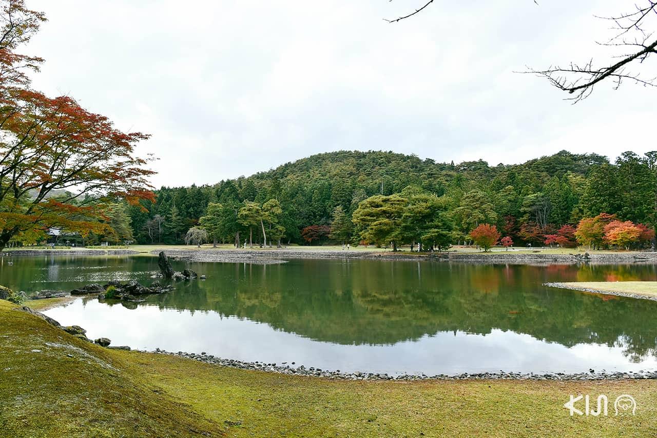 ที่เที่ยวตามเส้นทางของรถไฟ POKÉMON with YOU Train - สวนโจโด (Pure Land Garden) ที่ Motsuji Temple