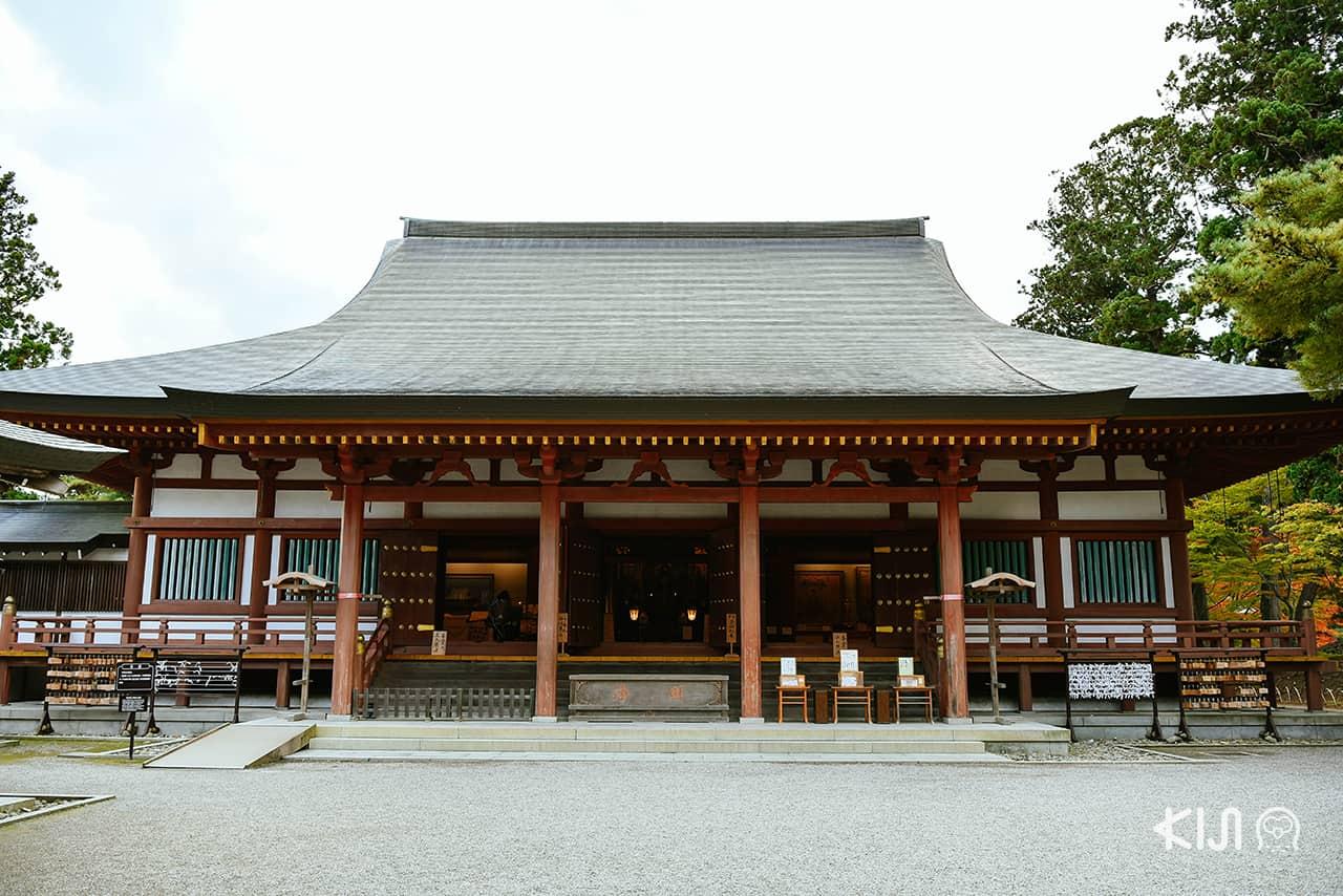 วิหารฮนโดะที่ Motsuji Temple