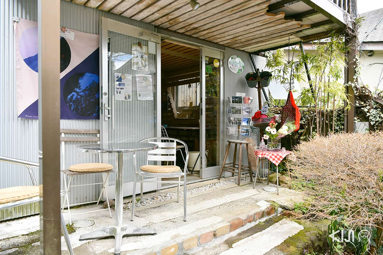 Hakone Museum of Photography : จุดจำหน่ายสินค้า อาทิ โฟโต้บุ๊กของศิลปิน โปสการ์ด