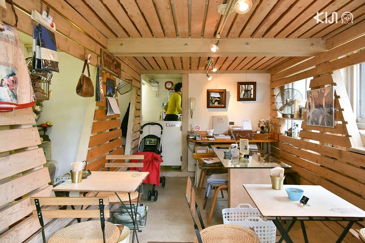 Hakone Museum of Photography : บรรยากาศภายในคาเฟ่ Cafe Plaisir de l'oeuf